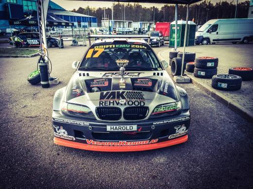 BMW E46 LSX HAROLD VALDMA Saku Suurhall 2014
